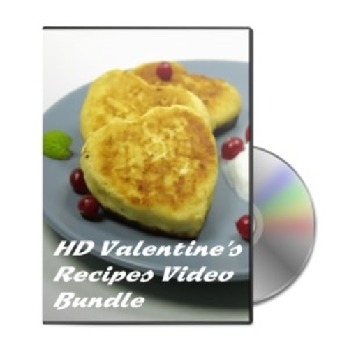 Product picture HD Valentines Recipes Video Bundle